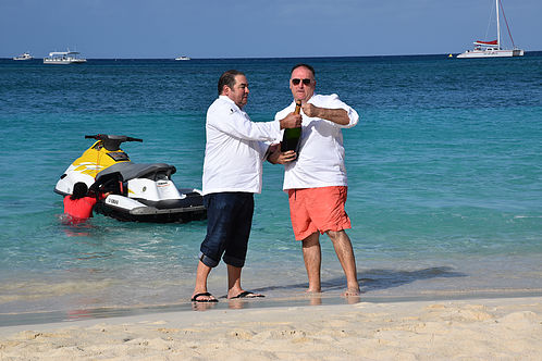 Jose Andres and Emeril Lagasse