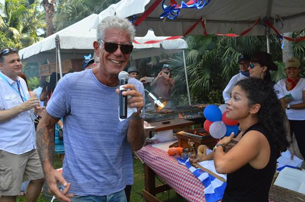 Anthony Bourdain Cayman Islands Cookout