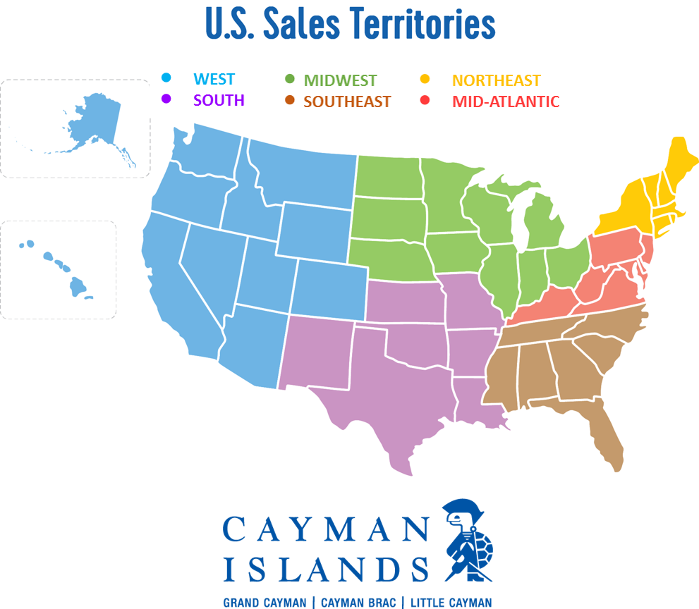 Sales Team Map